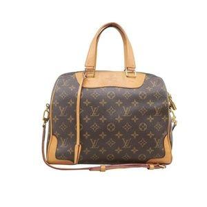 💯 Auth Louis Vuitton Retiro NM Monogram Satchel